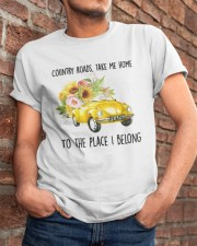 Country Road Take Me Home Classic T-Shirt apparel-classic-tshirt-lifestyle-26