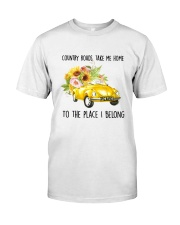 Country Road Take Me Home Classic T-Shirt front