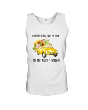 Country Road Take Me Home Unisex Tank thumbnail