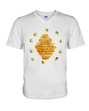 Speaking Words Of Wisdom V-Neck T-Shirt thumbnail