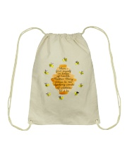 Speaking Words Of Wisdom Drawstring Bag thumbnail
