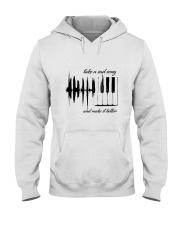 Take A Sad Song Music Hooded Sweatshirt thumbnail