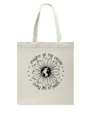 People Living Life In Peace Tote Bag thumbnail