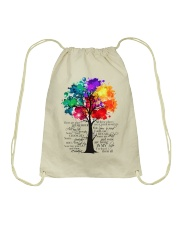 There Are Places I Remember Drawstring Bag thumbnail