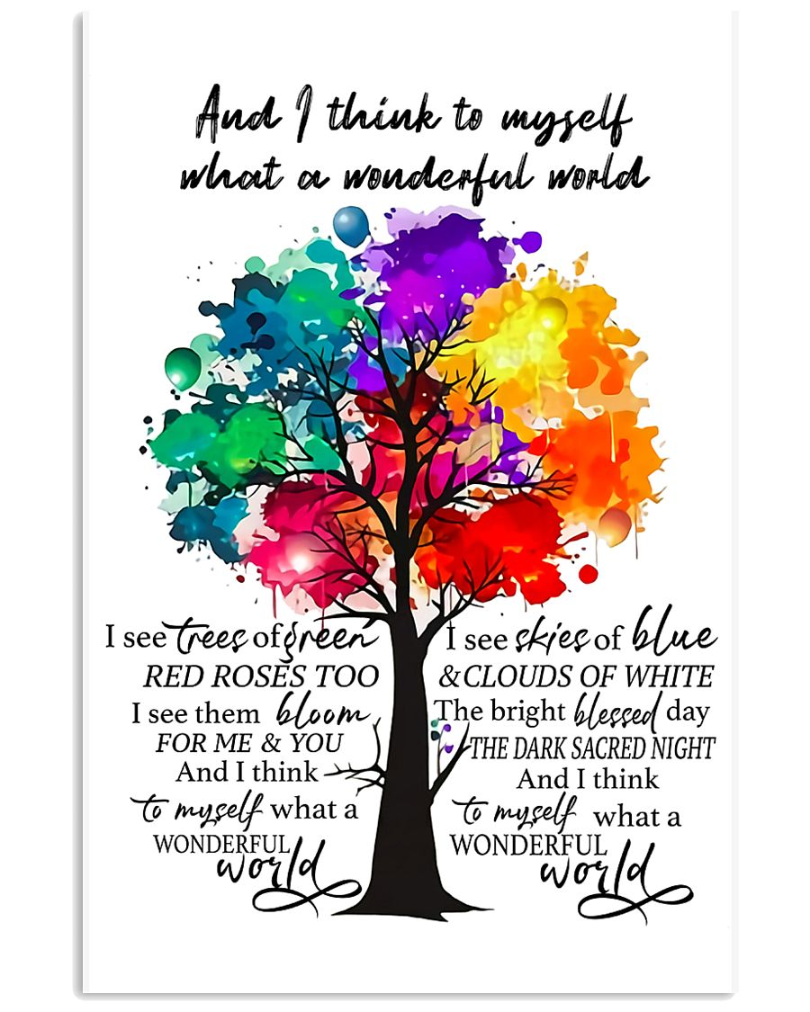 And I Think To Myself 11x17 Poster