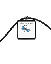 Whisper Words Of Wisdom 1 Cord Rectangle Necklace thumbnail