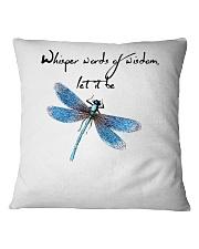 Whisper Words Of Wisdom 1 Square Pillowcase thumbnail