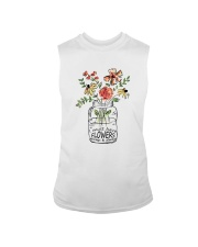 I Must Have Flowers Always And Always Hippie  Sleeveless Tee thumbnail