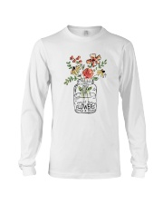 I Must Have Flowers Always And Always Hippie  Long Sleeve Tee thumbnail