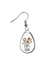 I Must Have Flowers Always And Always Hippie  Teardrop Earrings thumbnail