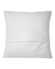 I Must Have Flowers Always And Always Hippie  Square Pillowcase back