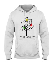 Be Alright Hooded Sweatshirt front