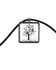 Be Alright Cord Rectangle Necklace thumbnail