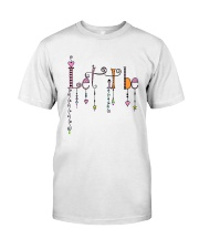 Let It Be Music Hippie Premium Fit Mens Tee thumbnail