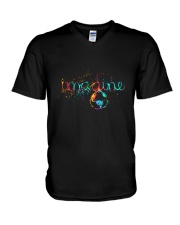 Imagine V-Neck T-Shirt thumbnail