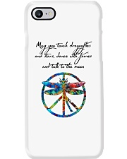 May You Touch Dragonflies And Stars Hippie  Phone Case thumbnail