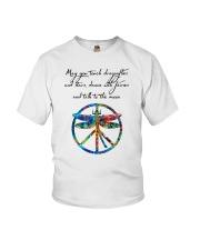 May You Touch Dragonflies And Stars Hippie  Youth T-Shirt thumbnail