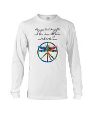 May You Touch Dragonflies And Stars Hippie  Long Sleeve Tee thumbnail