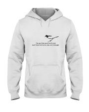 I Am As Freedom As A Bird Hooded Sweatshirt front