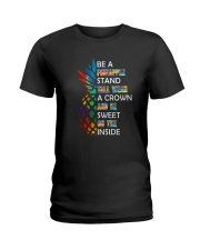 Be A Pineapple Ladies T-Shirt tile
