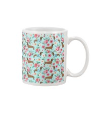 Doxie Flower Pattern Mug thumbnail