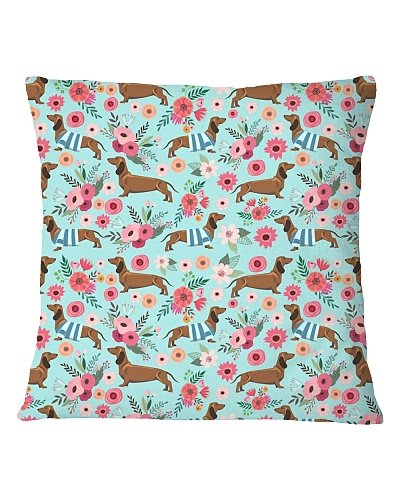 Doxie Flower Pattern