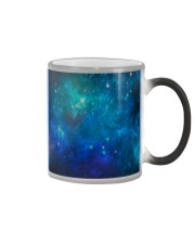 Galaxy pattern colorful mask  Color Changing Mug color-changing-right