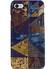 Abstract modern pattern mask Phone Case thumbnail