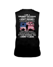 I Am A Grumpy Veteran I Served I Sacrificed  Sleeveless Tee thumbnail