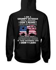 I Am A Grumpy Veteran I Served I Sacrificed  Hooded Sweatshirt thumbnail