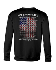 Hey Snowflake In The Real World Crewneck Sweatshirt thumbnail