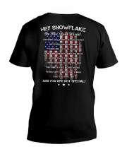 Hey Snowflake In The Real World V-Neck T-Shirt thumbnail