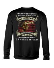 Forever The Title US Marine Veteran Crewneck Sweatshirt thumbnail