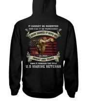 Forever The Title US Marine Veteran Hooded Sweatshirt thumbnail