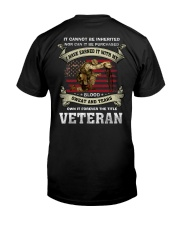 I Have Earned It With My Blood Sweat And Tears Classic T-Shirt thumbnail