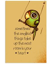 Sometimes The Smallest Things Vertical Poster tile