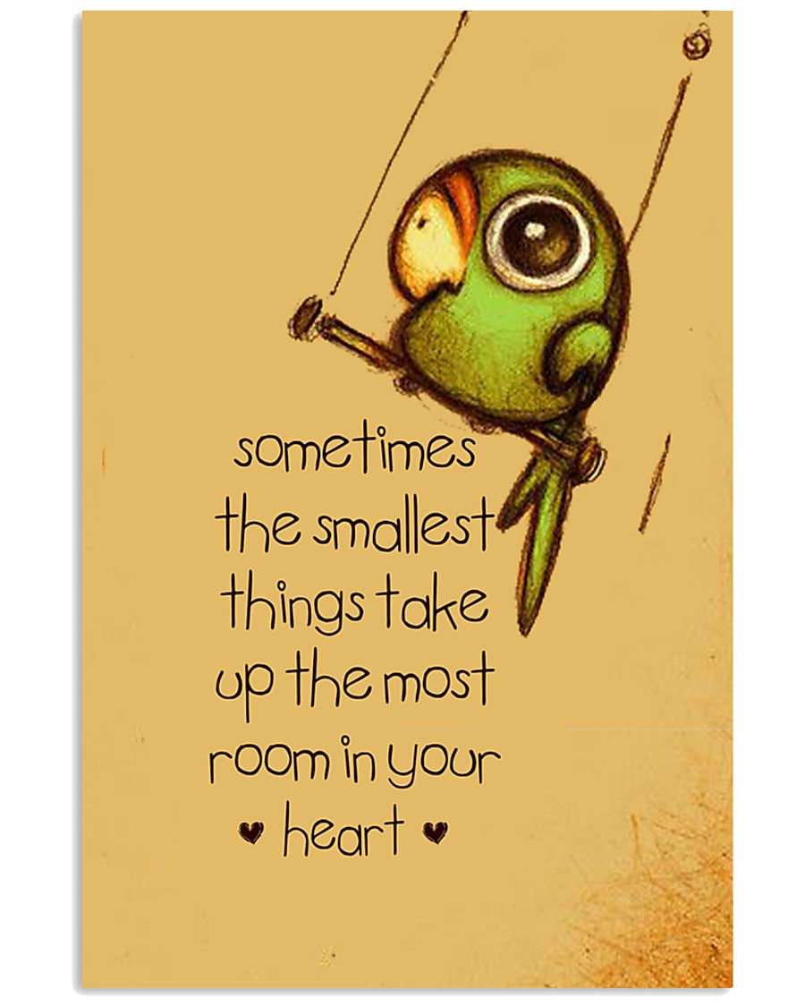 Sometimes The Smallest Things 24x36 Poster