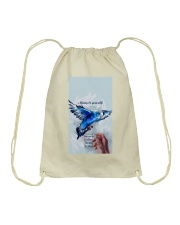 Always Be Yourself Drawstring Bag thumbnail
