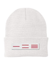 123 Knit Beanie front