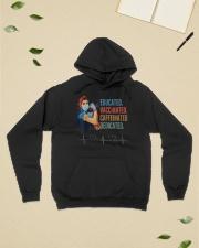 Nurse PNG Hooded Sweatshirt lifestyle-unisex-hoodie-front-6