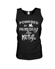 POWERED BY FAIRYDUST AND METAL Unisex Tank thumbnail