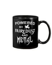 POWERED BY FAIRYDUST AND METAL Mug thumbnail