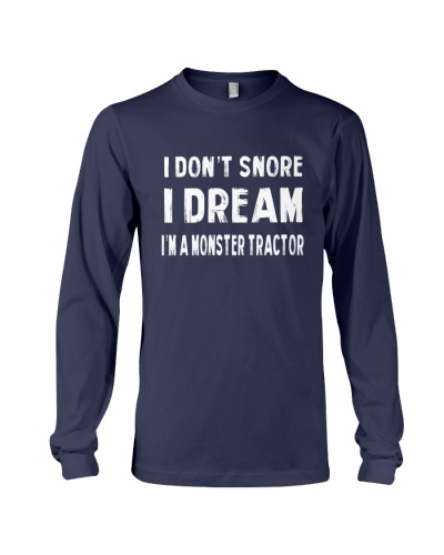 i dont snore monster tractor