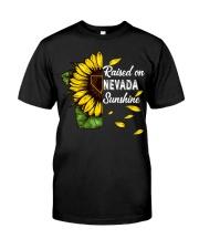 Raised on Nevada sunshine Classic T-Shirt thumbnail