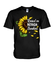 Raised on Nevada sunshine V-Neck T-Shirt thumbnail