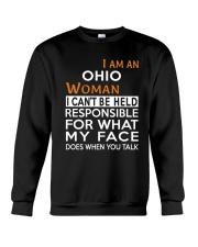Ohio woman  i cant be held for Crewneck Sweatshirt thumbnail