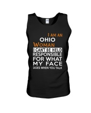 Ohio woman  i cant be held for Unisex Tank thumbnail