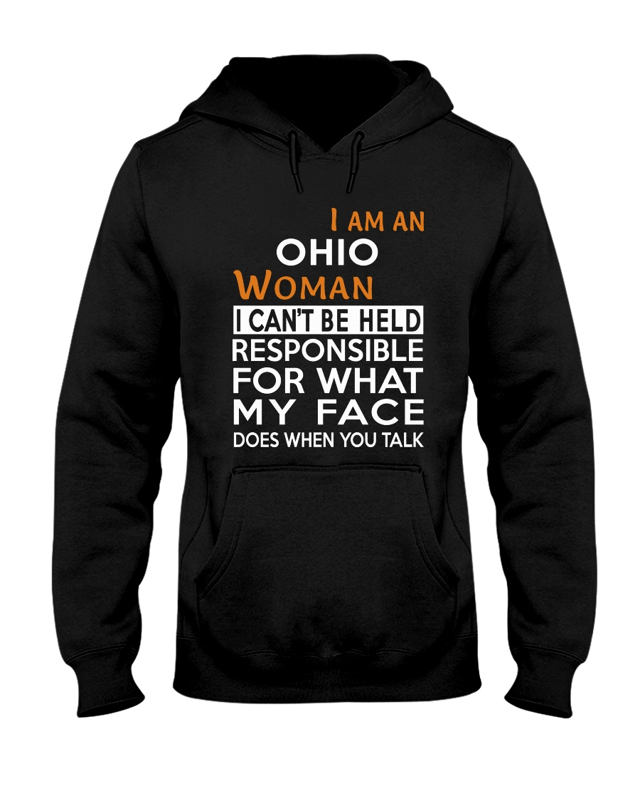 Ohio woman  i cant be held for Hooded Sweatshirt