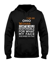 Ohio woman  i cant be held for Hooded Sweatshirt front