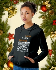 Ohio woman  i cant be held for Hooded Sweatshirt lifestyle-holiday-hoodie-front-4